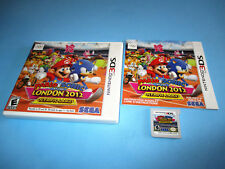 Mario & Sonic at the London 2012 Olympic Games Nintendo 3DS XL w/Case & Manual