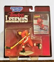 Starting Lineup Timeless Legends GORDIE HOWE 1995 action figure and card SLU