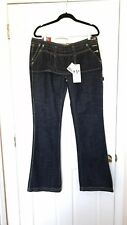 Gsus Industries Ningal Women's Denim Flare Leg Boot cut Jeans Size 32 New