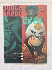 JUDGE DREDD TALE OF A DEAD MAN GRAPHIC NOVEL RARE FIRST PRINT OOP WAGNER