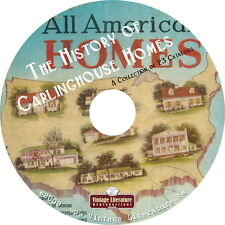 History of Garlinghouse Home Plans { Bungalows ~ Colonial ~ Retro } on DVD