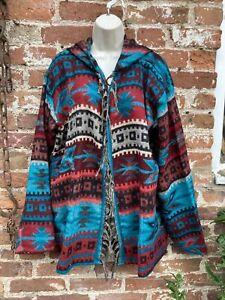 Cashmelon Cashmilon Button hoodie hippie/boho/festival size XL