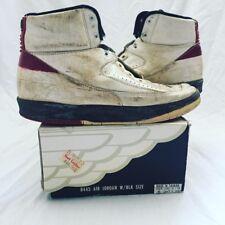087f1325870d08 Original 1987 Air Jordan 2 II Sneakers Nike NBA Vintage Not Retro Shoes  Michael