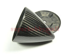 "4.5""/114.3mm Uncut / no blade Carbon Fiber Spinner For RC Gas Plane"