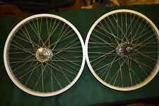 HJC JOYTECH wheel set 48h 20'' 14mm axle alloy HARO vintage Mid school bmx Used