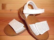 Clic CX-8561 Gr. 24 Sandale polar weiß silber Nieten Glitzer Glanz echtes Leder