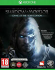 SHADOW OF MORDOR * XBOX ONE * BRAND NEW SEALED * GOTY GAME OF THE YEAR EDITION