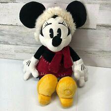 DISNEY Minnie Mouse Chrtistmas Santa Hat Plush Toy