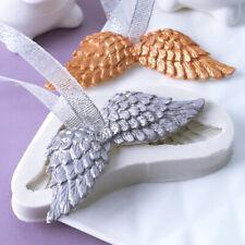 Engelsflügel Baby Taufe Silikon Kuchen Dekor Gussform Fondant Sugarcraft Form