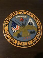 United States Army Seal Decal Bumper Sticker 3 inches
