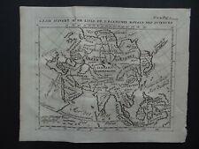 1723 Atlas DELISLE map  ASIA - ASIE - China India Japan Indonesia - De lisle
