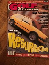 Golf Xtreme Magazine Aug 1999 Classic VW Mk1 Mk2 Mk3 Mk4 Golf, Corrado, Jetta.