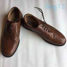8b21ff7dfe6 Para Hombre Pierre Cardin de Cuero Marrón Cuero Calado Zapatos Talla 44 UK10