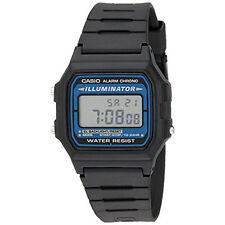 Casio Men F105W-1A Illuminator Sport Digital Chronograph Wrist Watch Black NIB