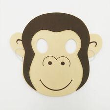 Monkey Zoo Safari  Animal Farm Jungle Foam Kid Mask School Party Costume New