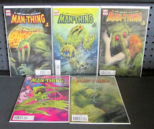 Man-Thing Limited Series #1 2 3 4 5 | 2017 Marvel Comics | R.L. Stine