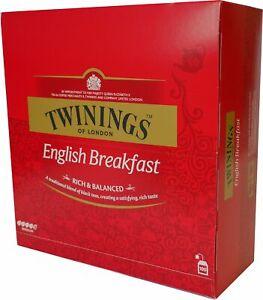 Twinings Englisch Breakfast Tee 100 vakuumierte Teebeutel 200 g