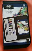 Royal Langnickel Essentials 13 Piece Acrylic Paint Set Full Kit Includes Case