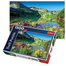Trefl 1500 Pezzi Per Adulti Grandi wielki LUNGO LAGO TATRA Mountains, Puzzle Nuovo