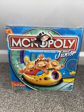 Monopoly Junior Board Game, 100% complete Waddingtons, VGC,5-8yrs, 2-4 players