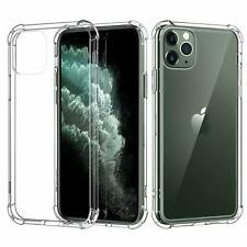 iPhone 11 Pro Max Case MoKo TPU Bumper + Hard Panel Protect Cover Crystal Clear