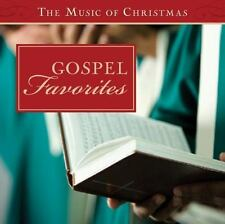 The Music of Christmas: Gospel Favorites by Barbour Publishing Staff (2013, CD)