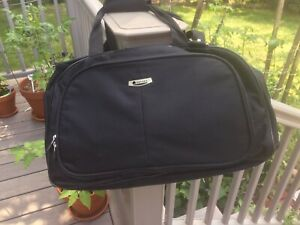 DELSEY Black Duffel Carry On Travel Bag /Hand and Shoulder Straps /Calypso/ New
