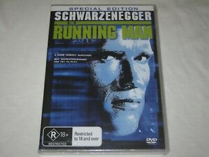 The Running Man - Special Edition - Brand New & Sealed - Region 4 - DVD