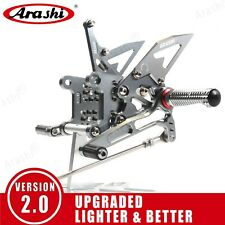 Fit Triumph Speed Triple 1050 2005 - 2010 2009 New Adjustable Rearsets Footrests