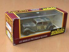 New ListingSolido 32B Citroen 15Cv Six Ffi 1939 1:43 Mib