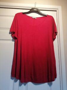 Evans Slub T Shirt Size 20