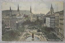 """CPA """" MONTREAL - Victoria Square"""