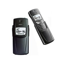 Phone Mobile Phone Nokia 8910 Black Gsm Infrarosssi Bluetooth Top Quality