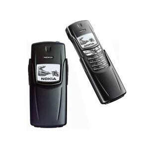 TELEFONO CELLULARE NOKIA 8910 NERO GSM INFRAROSSSI BLUETOOTH TOP QUALITY-