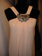 NWT STUNNING PEACH PUFF DRESS BY PINKO RRP £2,400 SIZE 10, D 36, F 38
