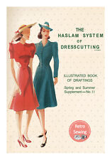 The Haslam System of Dresscutting No. 11 1930/40's Copy