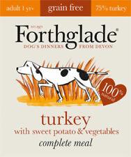 Forthglade Grain Free Adult Turkey Sweet Potato Veg Dog Wet Food Tray 395g x 18