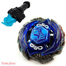 WBBA BB111 Mercury Anubius BEYBLADE Masters Fusion Metal+GRIP+BLUE SPIN LAUNCHER