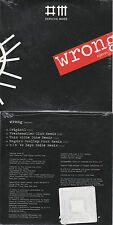 CD CARTONNE CARDSLEEVE 5T DEPECHE MODE WRONG REMIXES NEUF SCELLE 2009