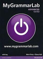 PEARSON My Grammar Lab ADVANCED C1/C2 w Key BOOK+ONLINE+MOBILE MyLab Pack @NEW@