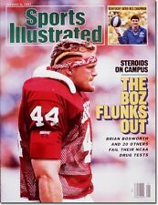 January 5, 1987 Brian Bosworth Oklahoma Sooners Sports Illustrated A