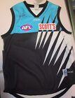 Port Adelaide Power - Gavin Wanganeen signed Port Jersey + COA