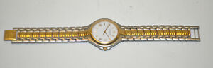 Wittnauer BE8190-9554 White Two-Tone Gold Plated & SS Quartz 35.5mm Dress Watch
