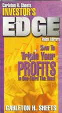 VHS: CARLETON H. SHEETS HOW TO TRIPLE YOUR PROFIT....NEW (CELLO RIPPED)