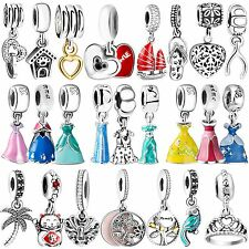 Fashion Charms Pendant Jewelry Bead Fit 925 Silver sterling Bracelets Necklace