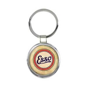 Esso Keychain : Gift Car Auto Automobile Garage Mechanic Gas Station