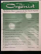 The Organist Sheet Music Book For Church Services May-Jun 2010 32 Pages Easy