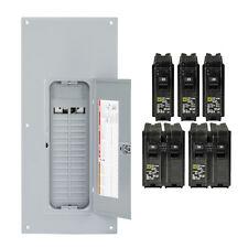 Square D Homeline 225 Amp 30 Space 60 Circuit Indoor Main Breaker Panel Box Load