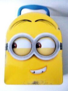 Despicable Me Minion Head Tin Lunch Box  w/Carry Handle - DAVE
