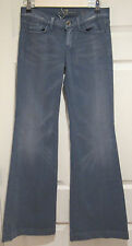 Woman's 7 Seven for all Mankind Low Rise Ginger Flare Jeans Size: 26